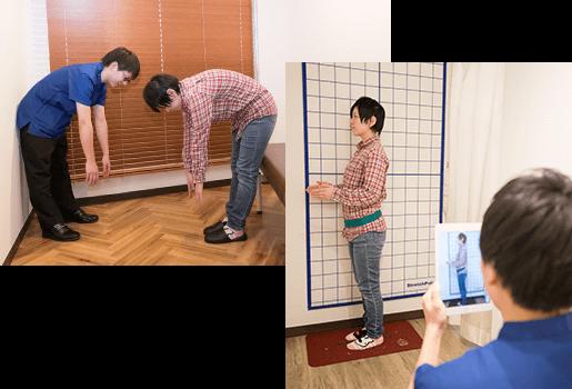 姿勢分析と検査