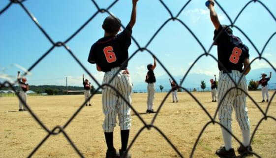 野球少年の肩を守る