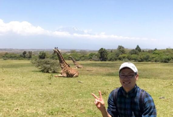 アフリカで12日間の旅行
